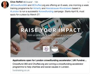 Crowdfunding and charities: friend or foe?